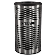 Ex-Cell Stainless Steel Trash Receptacle