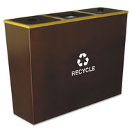 Ex-Cell Metro Collection Recycling Receptacle
