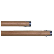 """60"""" Screw Style Head 1 1/8"""" with Wood Handle"""