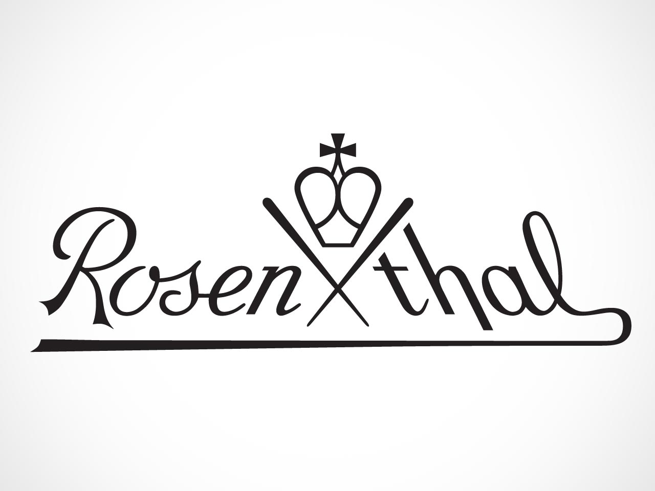 Rosenthal Logo on white background.
