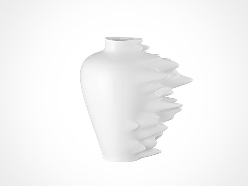 Rosenthal Fast Vase on white background