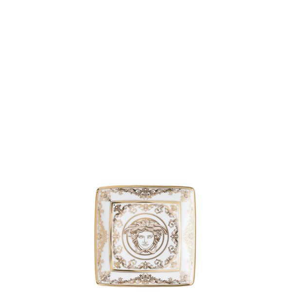 Canape Dish, Square, 4 3/4 inch | Versace Medusa Gala