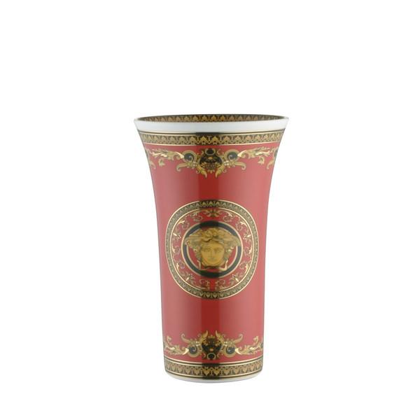 Vase, Porcelain, 10 1/4 inch | Medusa Red