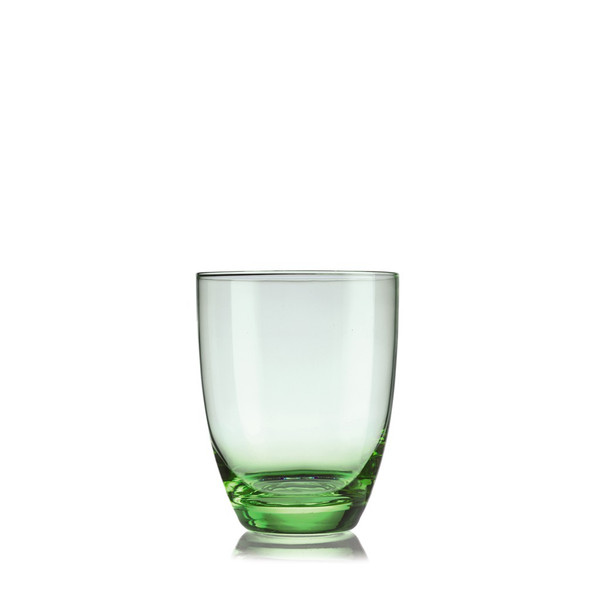 Water Tumbler, Box of 6, 4 1/8 inch, 12 1/2 ounce | Venice Glass - Green (609016)