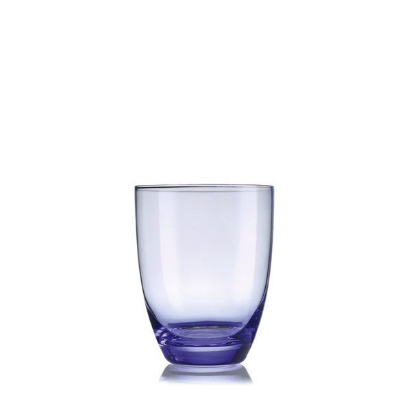 Water Tumbler, Box of 6, 4 1/8 inch, 12 1/2 ounce | Venice Glass - Blue (609017)