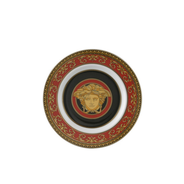 Bread & Butter Plate, 7 inch | Medusa Red