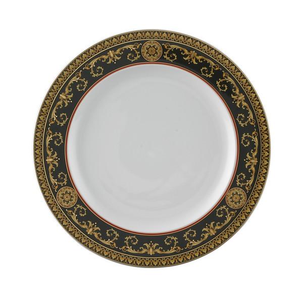 Dinner Plate, 10 1/2 inch | Versace Medusa Red