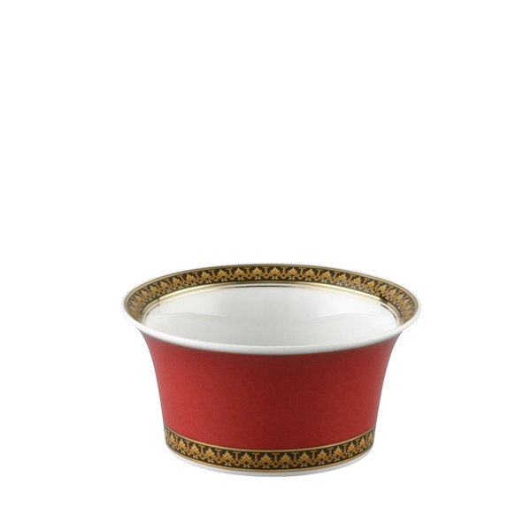 Fruit Dish, 4 3/4 inch, 9 ounce | Versace Medusa Red
