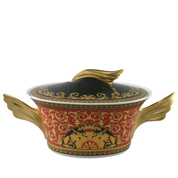 Vegetable Bowl, Covered, 54 ounce | Medusa Red