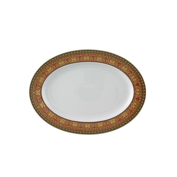 Platter, 13 1/4 inch | Medusa Red