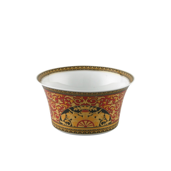 Vegetable Bowl, Open, 8 inch, 56 ounce | Versace Medusa Red