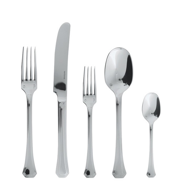 5 Pcs Place Setting (solid handle knife) | Deco