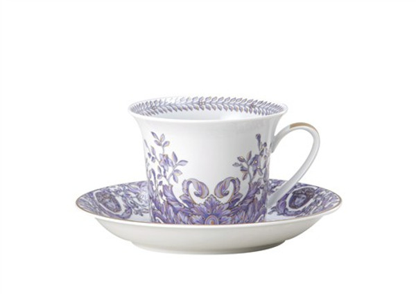 Cappuccino Saucer, 6 inch | Versace Le Grand Divertissement