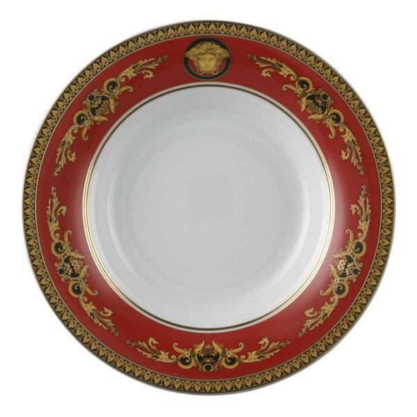 Gourmet Plate, 12 1/4 inch | Medusa Red