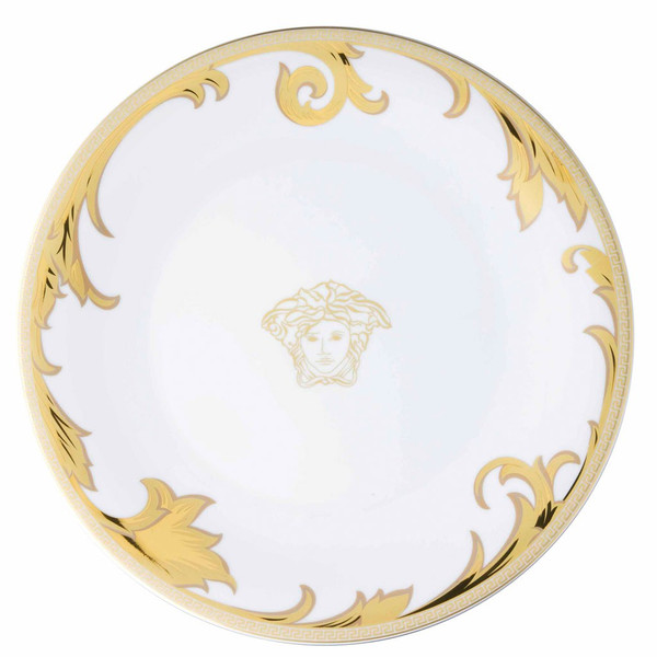 Service Plate, 13 inch | Versace Arabesque Gold