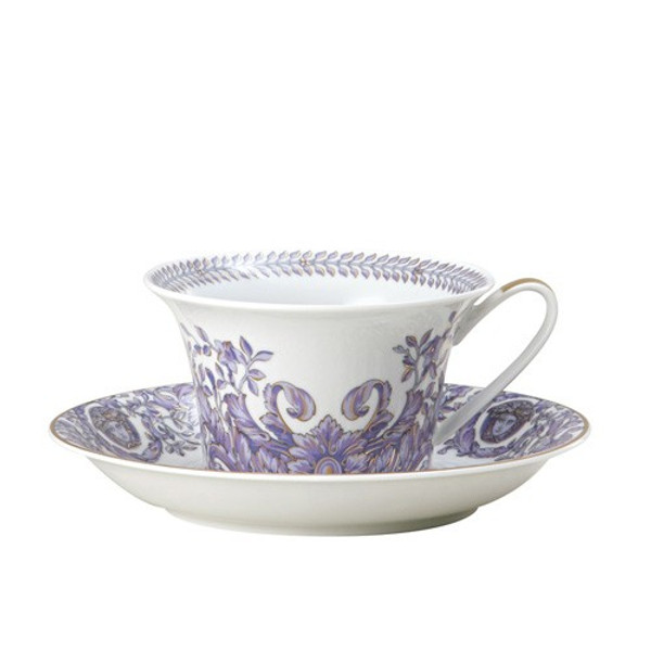 Saucer, Low, 6 inch | Versace Le Grand Divertissement