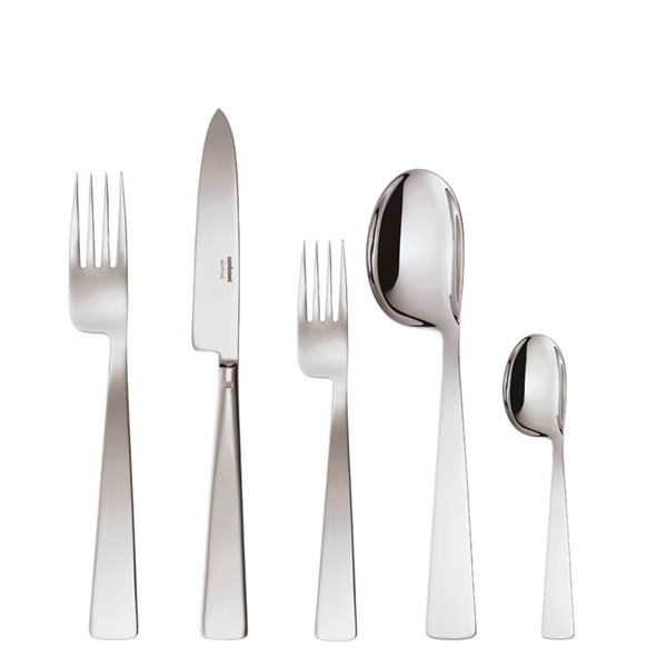 5 Pcs Place Setting (solid handle knife) | Conca Gio Ponti