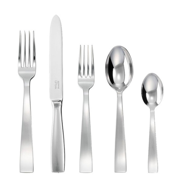 5 Pcs Place Setting (solid handle knife) | Gio Ponti