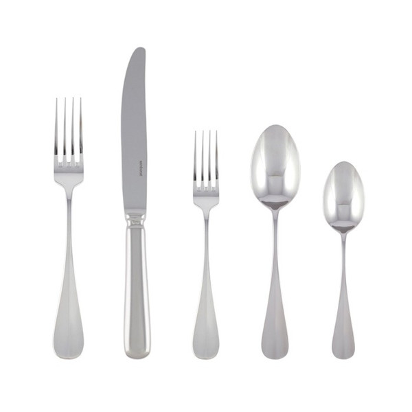 5 Pcs Place Setting (solid handle knife) | Baguette