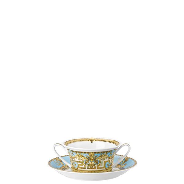 Cream Soup Cup, 10 ounce | Versace Prestige Gala Bleu