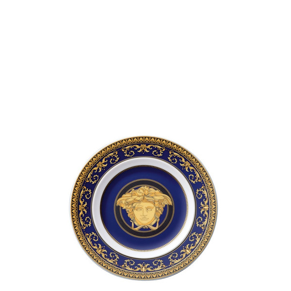 Bread & Butter Plate, 7 inch | Medusa Blue