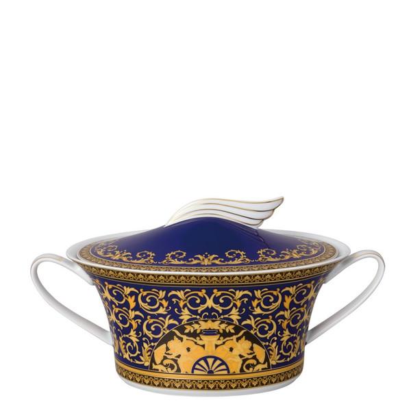 Vegetable Bowl, Covered, 54 ounce | Medusa Blue