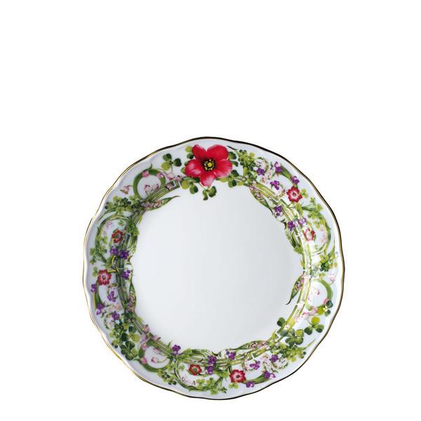 Salad Plate, 8 1/4 inch | Flower Fantasy