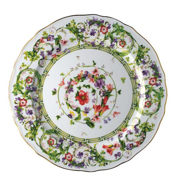 Service Plate, 12 1/4 inch | Flower Fantasy