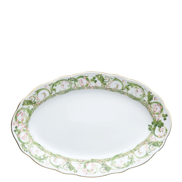 Platter, Oval, 12 inch | Flower Fantasy
