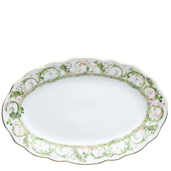 Platter, 13 3/4 inch   Flower Fantasy