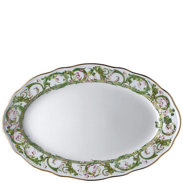Platter, Oval, 15 inch   Flower Fantasy