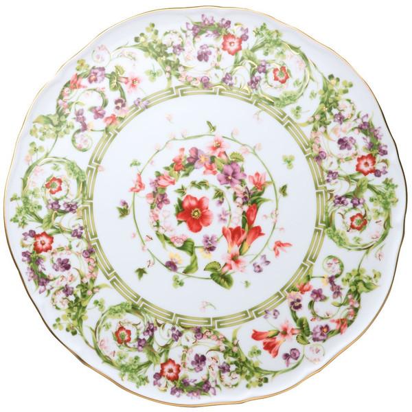 Tray, Tart Platter, 12 2/3 inch   Flower Fantasy