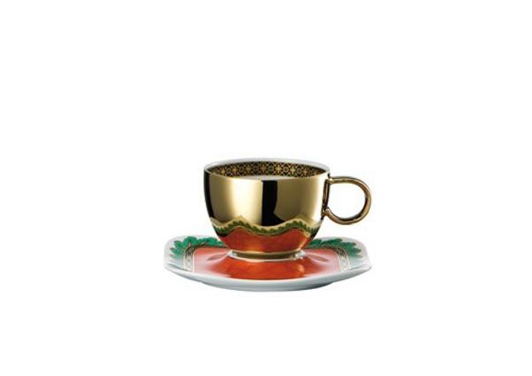 Espresso Saucer, 4 1/4 inch | Versace Marco Polo