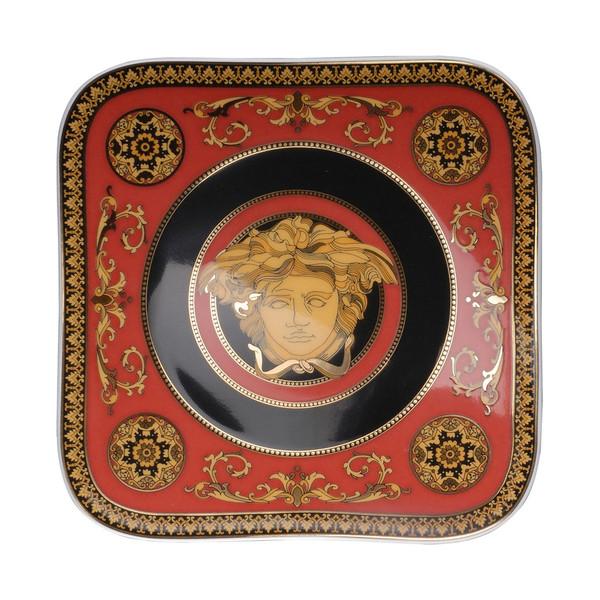 Bread & Butter Plate, 5 1/2 inch | Versace Medusa Red