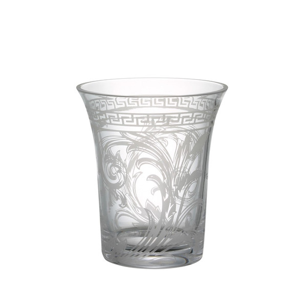 Vase, Crystal, 7 inch | Arabesque Clear