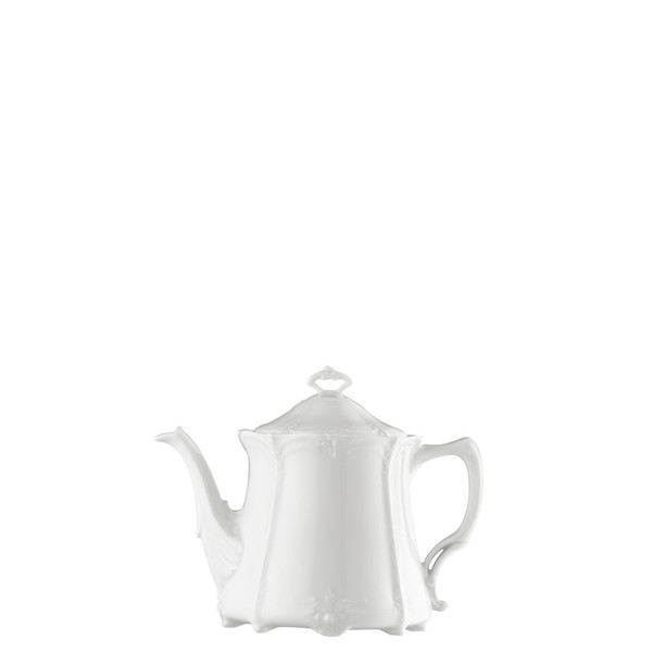 Tea Pot, 43 ounce | Rosenthal Baronesse White