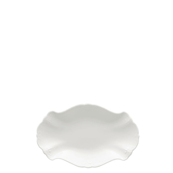 Relish Dish, 9 1/2 inch | Rosenthal Baronesse White