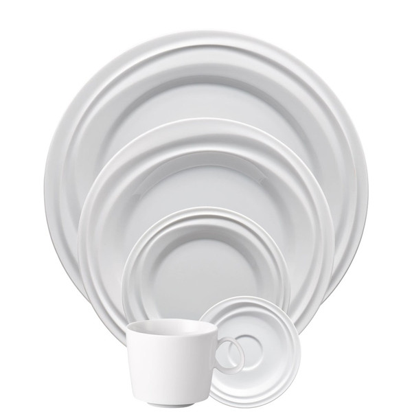 write a review for 5 Piece Place Setting (5 pps) | Nendoo White