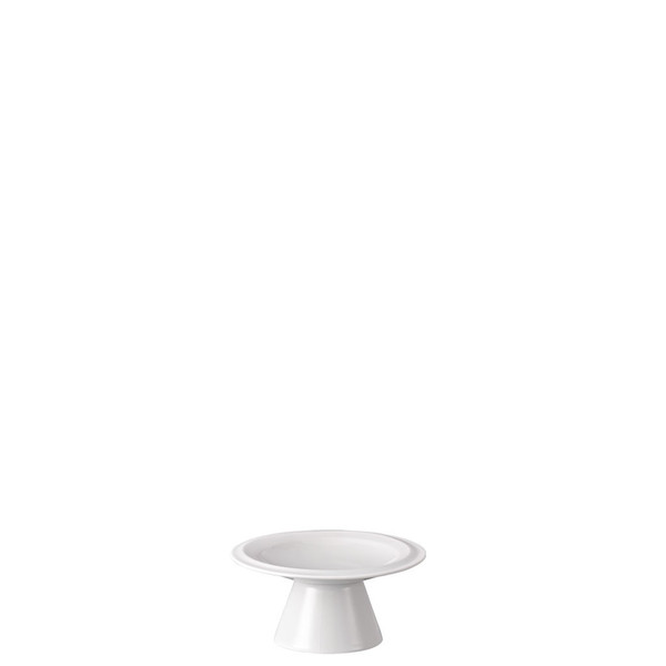Footed Platter, 4 inch | Nendoo White