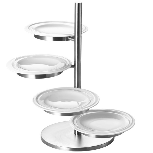 Etagere, 5 tiers | Rosenthal Nendoo White