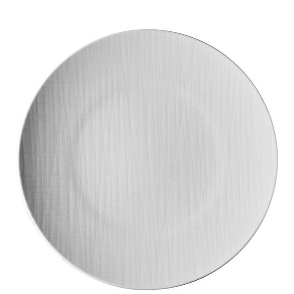 Plate flat round, 13 inch   Mesh White
