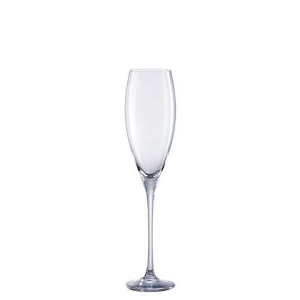 Champagne flute, Box/6, 7 ounce   Drop