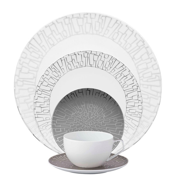 5 Piece Place Setting (5 pps) | TAC 02 Skin Platinum