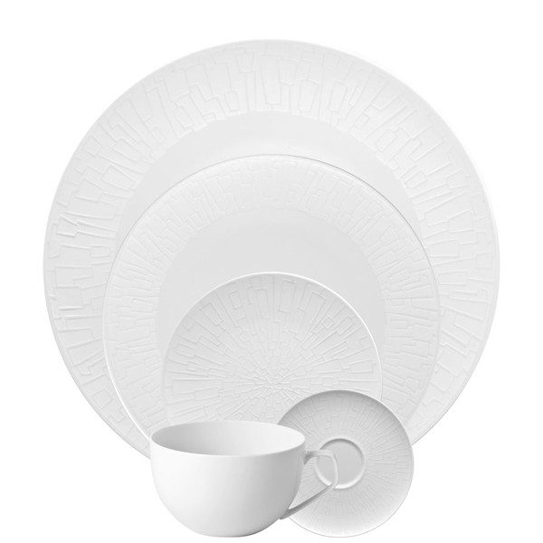 5 Piece Place Setting (5 pps) | TAC 02 Skin Silhouette