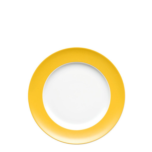 Salad Plate, 8 1/2 inch | Sunny Day Sunflower Yellow