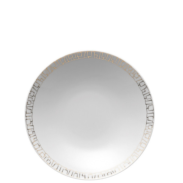 Rim Soup Plate, 9 1/2 inch | Rosenthal TAC 02 Skin Gold