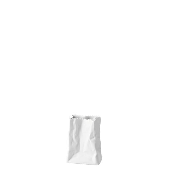 Bag Vase White ('T├╝tenvase) Mini Vase, 3 1/2 inch | Mini Vase