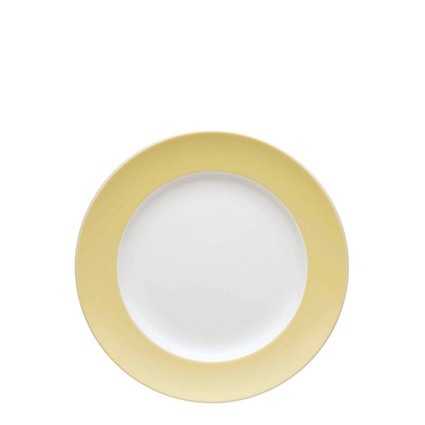 Salad Plate, 8 1/2 inch | Sunny Day Pastel Yellow