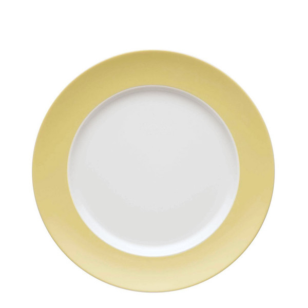 Dinner Plate, 10 1/2 inch | Sunny Day Pastel Yellow