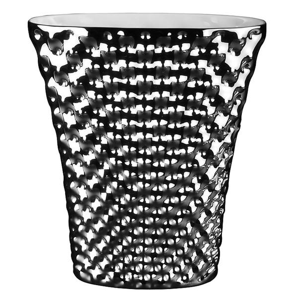 Vase, 12 1/2 inch | Vibrations - Platinum (426137)